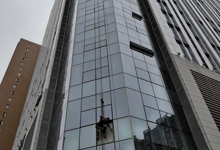 长沙玻璃幕墙安装工程